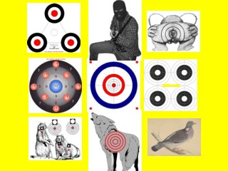 image regarding Printable Animal Targets identified as 1000s Printable Objectives Emailed