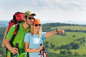 Couple Trail Walking