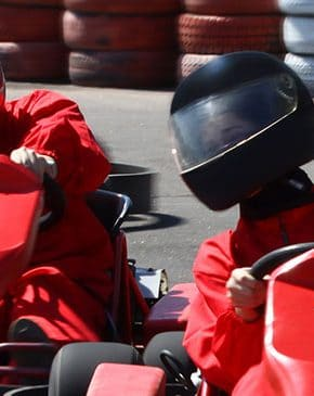 Go Kart racing on the best tracks around
